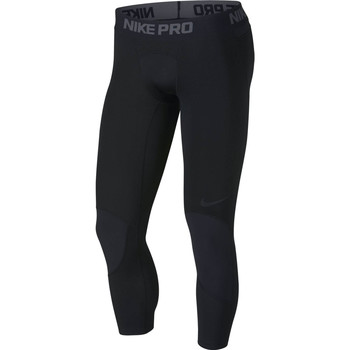 Vêtements Homme Leggings Nike Collants Pro Dry 3/4 noir