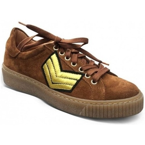Chaussures Femme Baskets basses Semerdjian Basket Smile 4 Marron