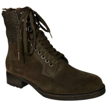 Chaussures Femme Boots Reqin's Boots Tulsa Peau Gris
