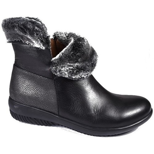 Chaussures Femme Bottines Sweet Boots Bipolo Noir