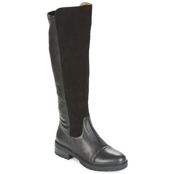 Chaussures Femme Bottes ville Karston Botte Amzel Noir