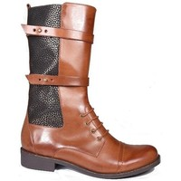 Chaussures Femme Bottes ville Karston Botte Acro Marron