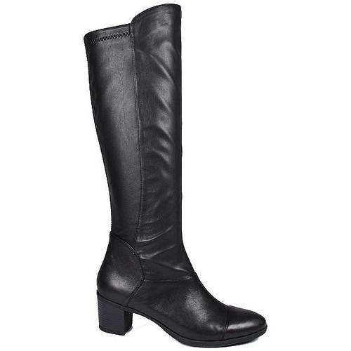 Chaussures Femme Bottes ville Karston Botte Vista Noir