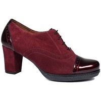 Chaussures Femme Low boots Karston Derby Trotteur Axata rouge