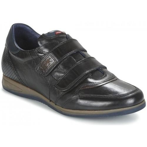 Chaussures Homme Baskets basses Fluchos Basket ville 9262 Haba Noir