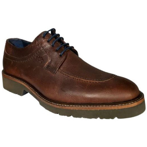Chaussures Homme Derbies Fluchos Ville F0045 Gras Marron