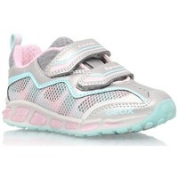 Chaussures Fille Baskets basses Geox Basket J Shuttle GB rose