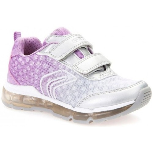 Chaussures Fille Baskets basses Geox Basket J Android GB rose