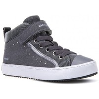 Chaussures Fille Baskets montantes Geox Basket J Kalispera G I Gris