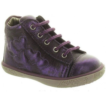 Chaussures Fille Boots Noel Boots Mini Arp violet