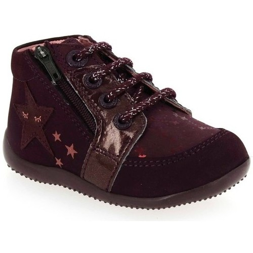 Chaussures Fille Boots Kickers Boots Boustar violet