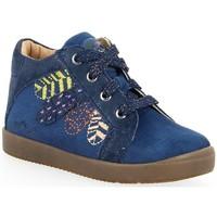 Chaussures Fille Boots Noel Boots Mini Bahia bleu