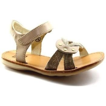 Chaussures Fille Sandales et Nu-pieds Noel Sandale Sixty Beige