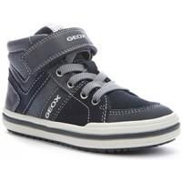 Chaussures Garçon Baskets montantes Geox Basket J Elvis D bleu