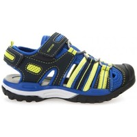 Chaussures Garçon Sandales sport Geox Sandale J Borealis Boy bleu