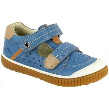 Chaussures Garçon Sandales et Nu-pieds Noel Salome Ferme Mini Oscar bleu