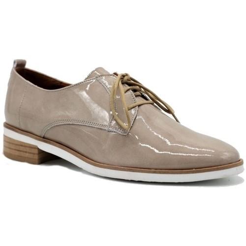 Chaussures Femme Derbies Karston Derby Jisiou Beige