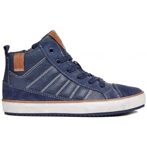 Chaussures Garçon Baskets montantes Geox Basket J Alonisso B.B bleu