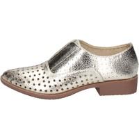 Chaussures Femme Derbies & Richelieu Francescomilano élégantes platine cuir synthétique BS74 PLATINE