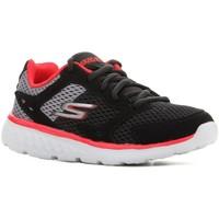 Chaussures Enfant Running / trail Skechers Go Run 400 97681L-BGRD czarny, czerwony, szary