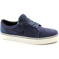 Chaussures Homme Baskets basses Nike 536404 satire daim bleu lacets chaussures homme sneaker Blu