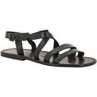Chaussures Homme Sandales et Nu-pieds Gianluca - L'artigiano Del Cuoio 531 U NERO CUOIO nero