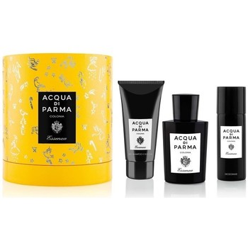 Beauté Homme Coffrets de parfums Acqua Di Parma set essenza - 100ml +75ml sg+75ml after shave - vaporisateur set essenza - 100ml +75ml sg+75ml after shave - spray