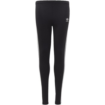 Vêtements Fille Leggings adidas Originals Legging 3-Stripes Noir / blanc
