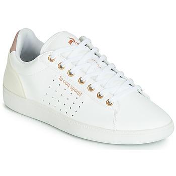 Chaussures Femme Baskets basses Le Coq Sportif COURTSTAR W BOUTIQUE Blanc / Rose
