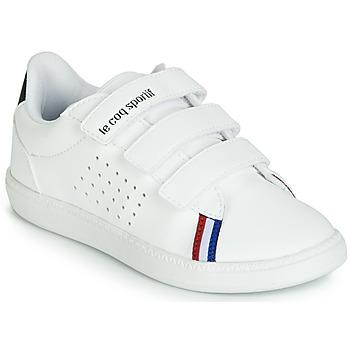 Chaussures Enfant Baskets basses Le Coq Sportif COURTSTAR PS SPORT BBR Blanc