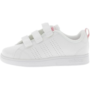 Chaussures Fille Baskets basses adidas Originals VS Advantage Clean CMF Bébé Blanc
