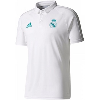Vêtements Homme Polos manches courtes adidas Originals Real Madrid Blanc