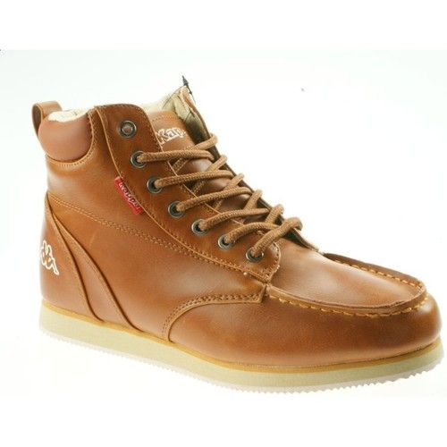 Chaussures Homme Baskets montantes Kappa Flame 241398-5443 brązowy
