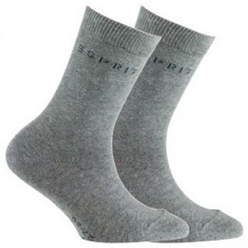 Accessoires Enfant Chaussettes Esprit Lot de 2 paires de chaussettes en coton Gris