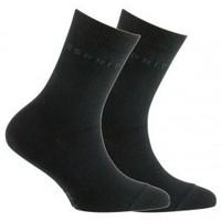 Accessoires textile Enfant Chaussettes Esprit Lot de 2 paires de chaussettes en coton Noir