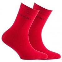 Accessoires Enfant Chaussettes Esprit Lot de 2 paires de chaussettes en coton Rouge