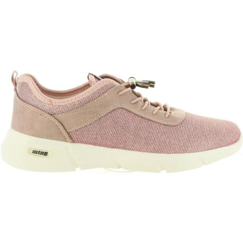 Chaussures Femme Baskets basses MTNG 69073 Beige