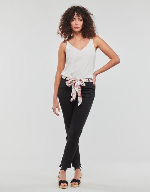 Vêtements Femme Pantalons 5 poches Betty London MIRABINE Noir