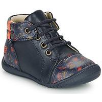 Chaussures Fille Boots GBB OLSA Bleu