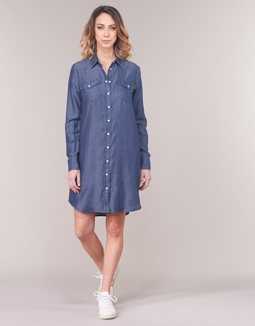 Robes Courtes Foncé Ihebella Bleu Femme Yurban OPTkZuiX