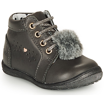 Chaussures Fille Boots Catimini CALISTA Gris