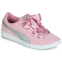 Chaussures Femme Baskets basses Puma JR PUMA VIKKY RIBBON.LILAC Rose