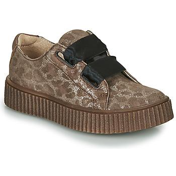 Chaussures Fille Baskets basses Catimini CAVANILLE Marron