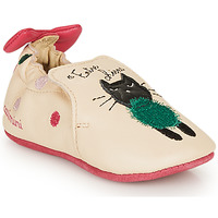 Chaussures Fille Chaussons Catimini CALICETTE Beige / Rose