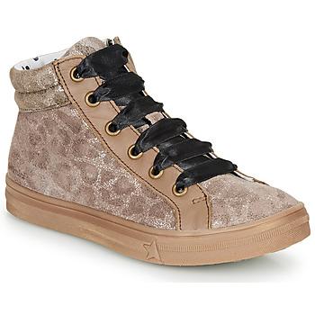 Chaussures Fille Baskets montantes Catimini CALENDULE Leopard