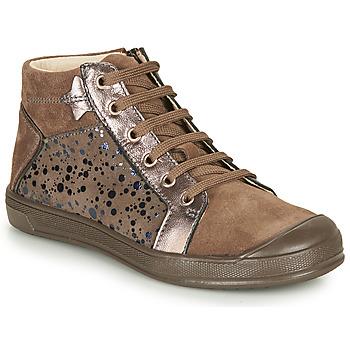 Chaussures Fille Baskets montantes GBB ORENGETTE Beige