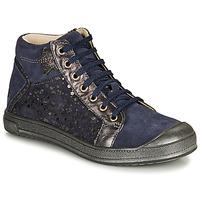 Chaussures Fille Baskets montantes GBB ORENGETTE Bleu