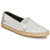 Chaussures Homme Espadrilles John Galliano 6715 Blanc