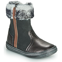 Chaussures Fille Boots GBB OZOE Gris