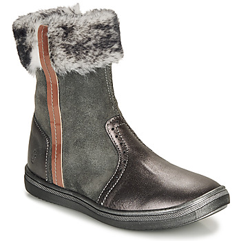 Chaussures Fille Boots GBB OZOE Noir